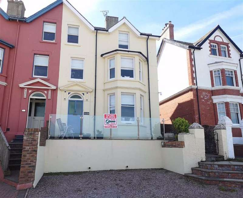 5 Bedrooms Semi Detached House for sale in Cliff Road, Borth