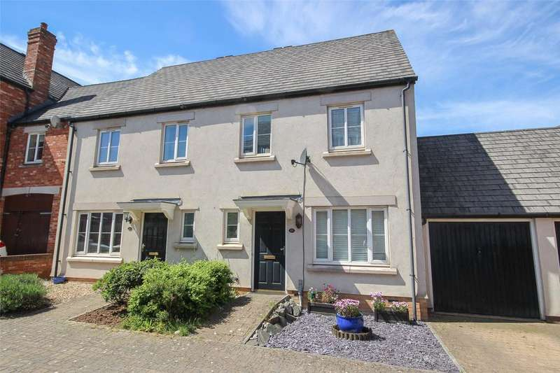 3 Bedrooms Semi Detached House for sale in Castle Court, Stoke Gifford, Bristol, BS34