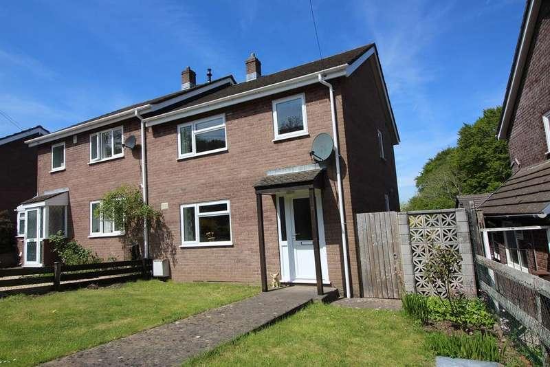 3 Bedrooms Semi Detached House for sale in Pen Padrig, Govilon, Abergavenny, NP7
