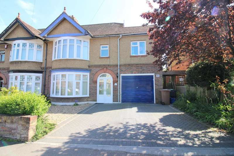 5 Bedrooms Semi Detached House for sale in Montrose Avenue, Luton, Bedfordshire, LU3 1HP