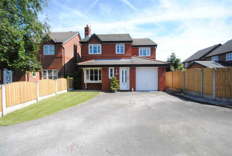 4 Bedrooms Detached House for sale in Mottram Close, GRAPPENHALL, Warrington, WA4