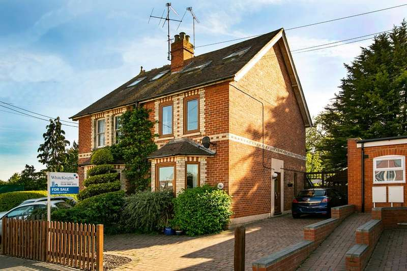 4 Bedrooms Semi Detached House for sale in Hollow Lane, Shinfield, Reading, RG2 9EG