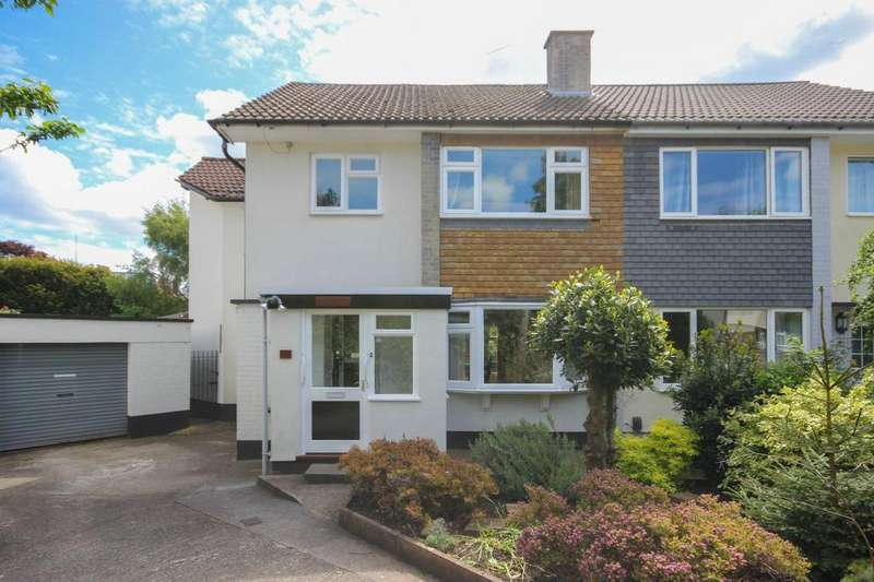 4 Bedrooms Semi Detached House for sale in Farne Close, Henleaze, Bristol, BS9