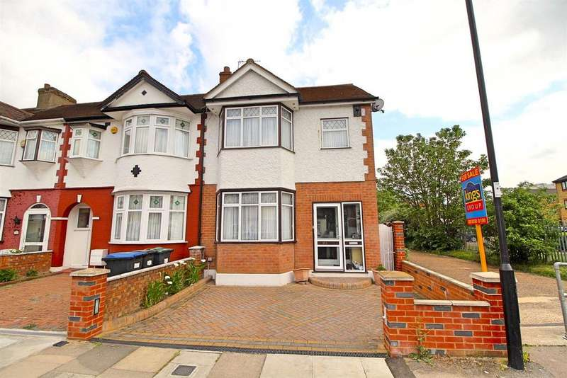 4 Bedrooms End Of Terrace House for sale in Chichester Road, Edmonton, N9