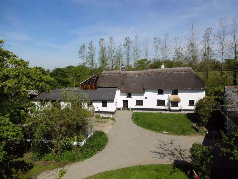 4 Bedrooms Detached House for sale in Rose Ash, South Molton, Devon, EX36