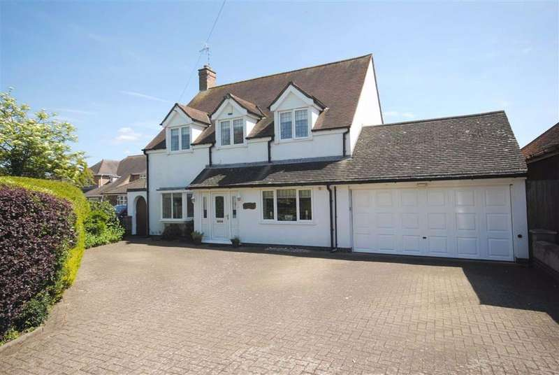 4 Bedrooms Detached House for sale in Butt Lane, Hinckley, Leicestershire
