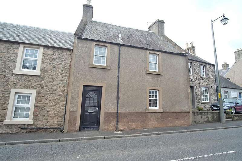 2 Bedrooms Terraced House for sale in 26 East High Street, Lauder TD2 6SU