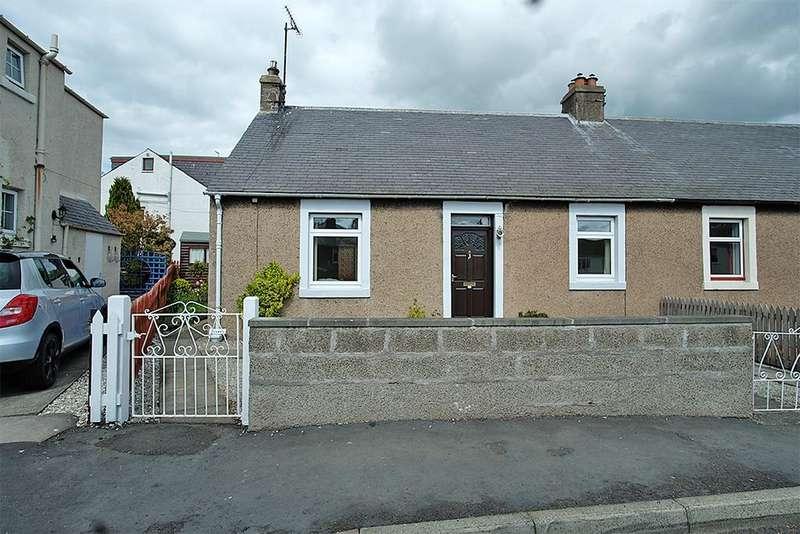 2 Bedrooms Semi Detached Bungalow for sale in Ellwyn, Westfield Road, Earlston TD4 6DX