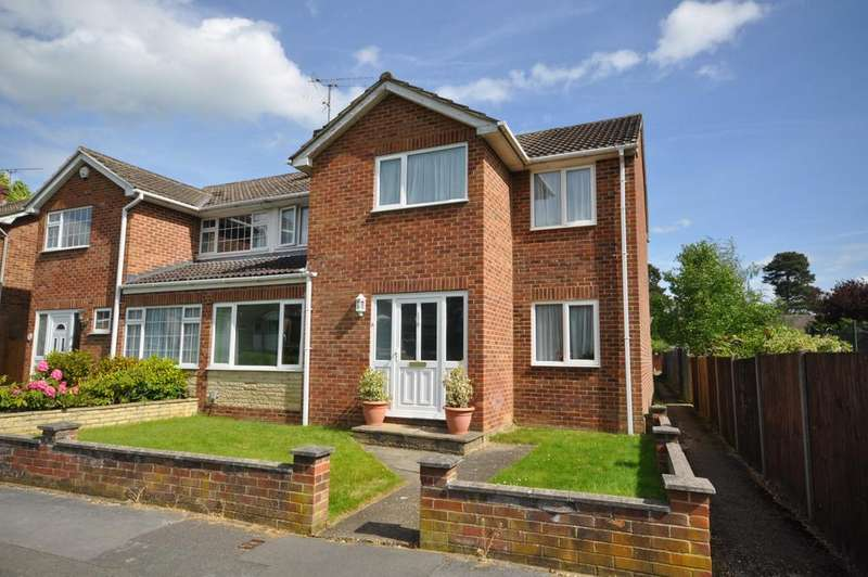 4 Bedrooms Semi Detached House for sale in Fairwater Drive, Woodley, Reading, RG5 3JF