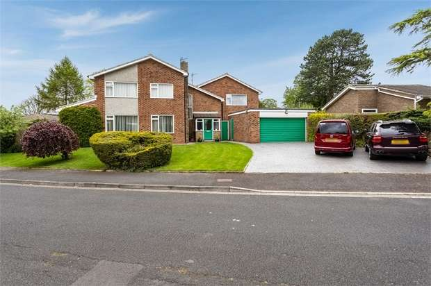 4 Bedrooms Detached House for sale in Manor Drive, Hilton, Yarm, North Yorkshire