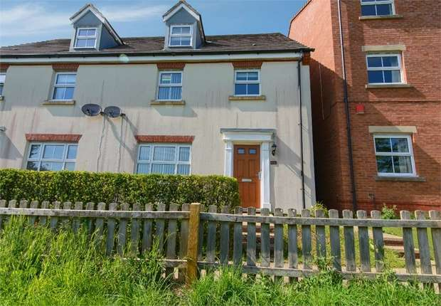 4 Bedrooms Semi Detached House for sale in New Charlton Way, Bristol, Gloucestershire