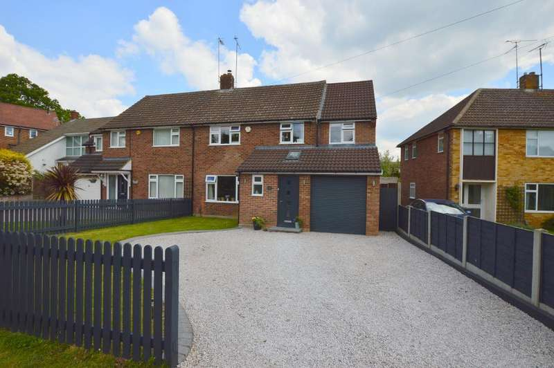 4 Bedrooms Semi Detached House for sale in Lea Road, Ampthill, Bedfordshire, MK45 2PT