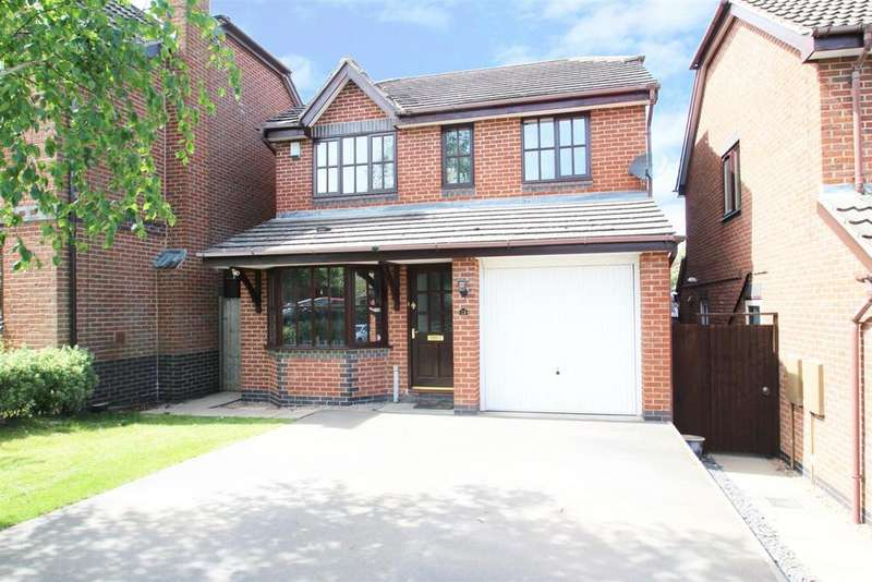 4 Bedrooms Detached House for sale in Rowe Leyes Furlong, Rothley, Leicester