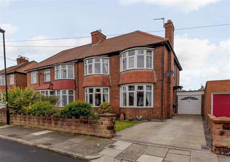 4 Bedrooms Semi Detached House for sale in Millfield Gardens, Tynemouth, NE30 2PX
