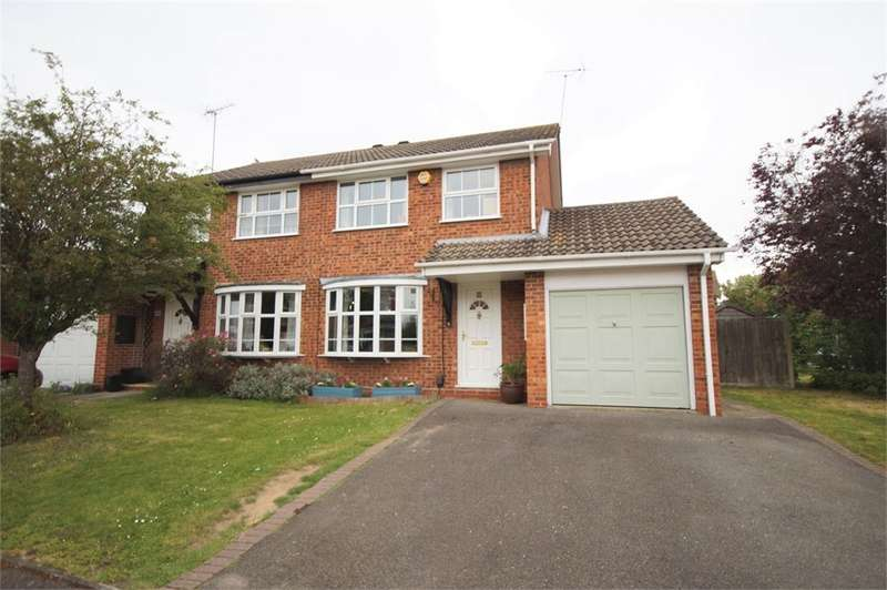 3 Bedrooms Semi Detached House for sale in Melling Close, Earley, READING, Berkshire
