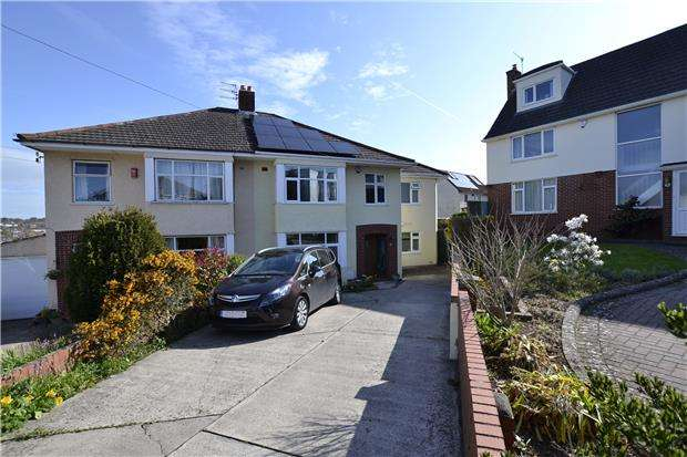 4 Bedrooms Semi Detached House for sale in Briarwood, Bristol, BS9 3SS
