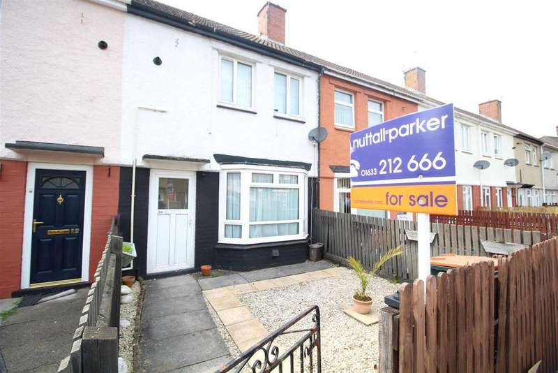 2 Bedrooms Terraced House for sale in Oliver Road, Newport