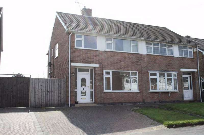 3 Bedrooms Semi Detached House for sale in Fieldcourt Road, Groby