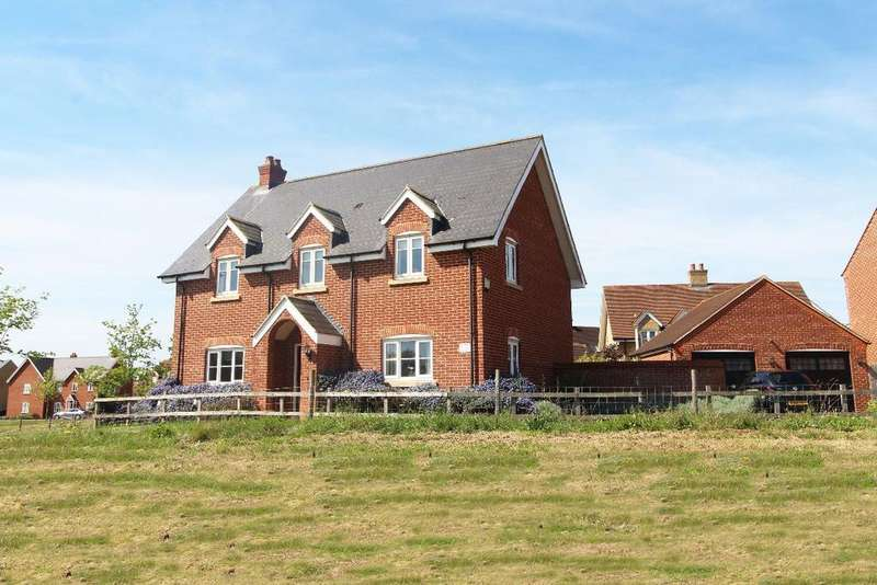 4 Bedrooms Detached House for sale in Greenkeepers Road, Great Denham MK40