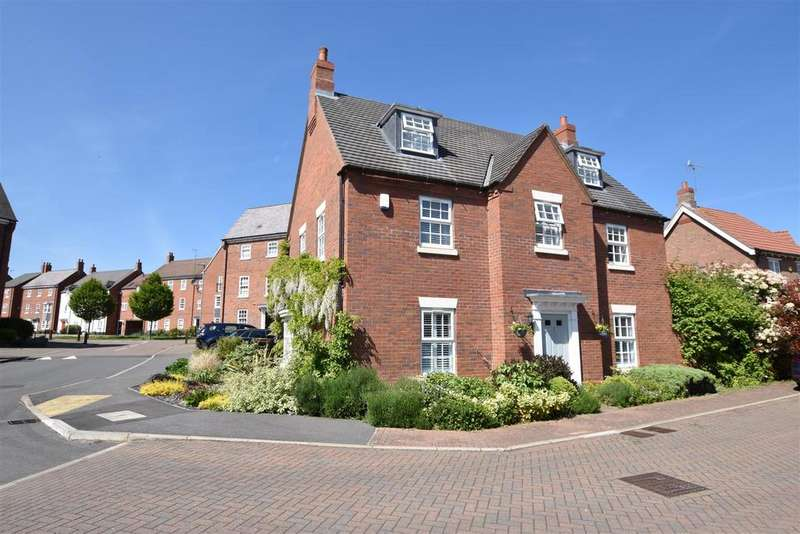 5 Bedrooms Detached House for sale in Furrow Close, Barrow Upon Soar, Loughborough