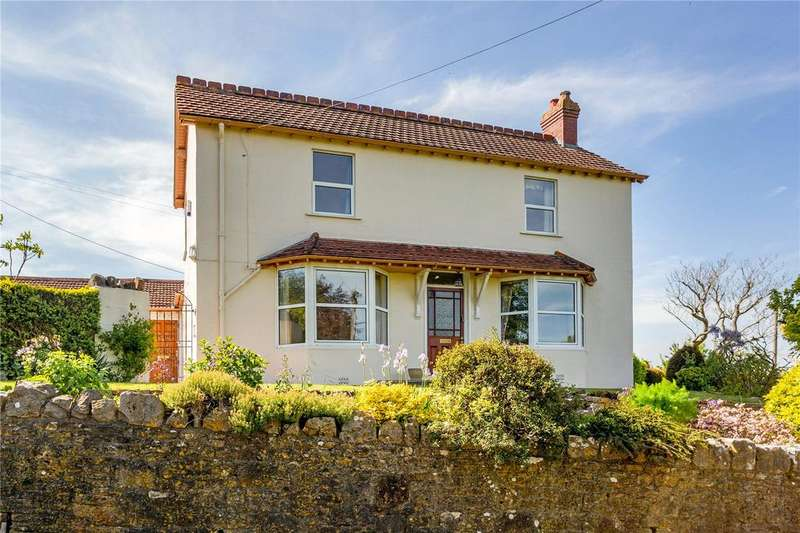 4 Bedrooms Detached House for sale in Station Road, Blagdon, Bristol, BS40