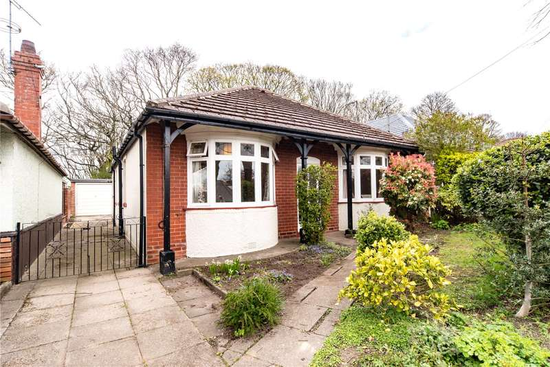 3 Bedrooms Detached Bungalow for sale in Dalewood Avenue, Sheffield, South Yorkshire, S8