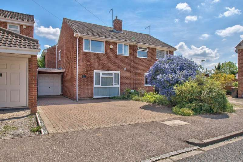 4 Bedrooms Semi Detached House for sale in Paddock Close, Clapham, Bedford, MK41 6BD