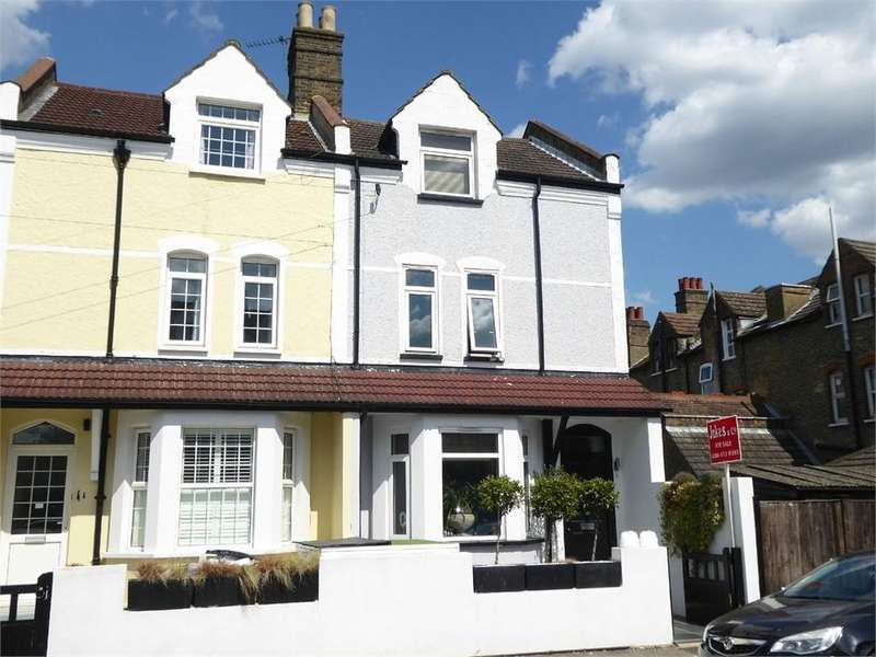 3 Bedrooms End Of Terrace House for sale in Cresswell Road, London