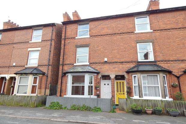 3 Bedrooms End Of Terrace House for sale in Turney Street, Nottingham, NG2