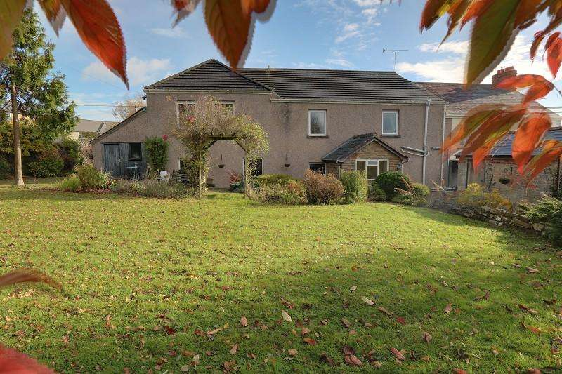 4 Bedrooms Semi Detached House for sale in High Street, Bream, Lydney, Gloucestershire, GL15