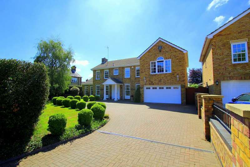 5 Bedrooms Detached House for sale in Ampthill Road, Silsoe, Bedfordshire, MK45 4DX