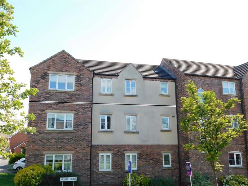 2 Bedrooms Apartment Flat for sale in Kidger Close, Shepshed, Loughborough