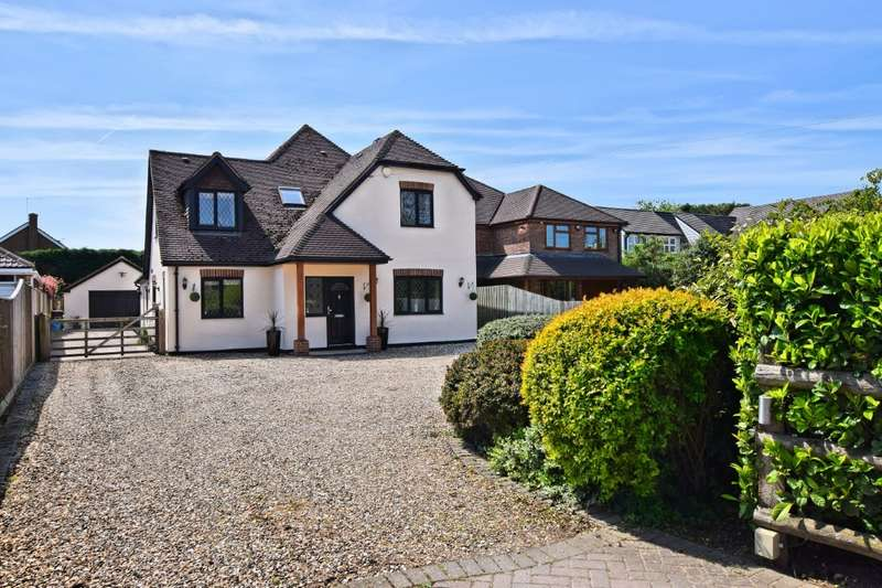 5 Bedrooms Detached House for sale in Hyde End Road, Spencers Wood, Reading, RG7