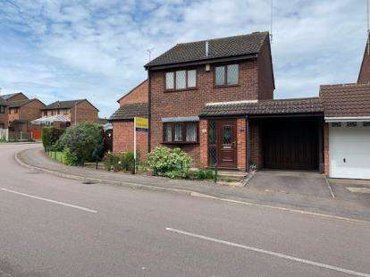 3 Bedrooms Detached House for sale in Birkenshaw Road, Leicester, Leicestershire