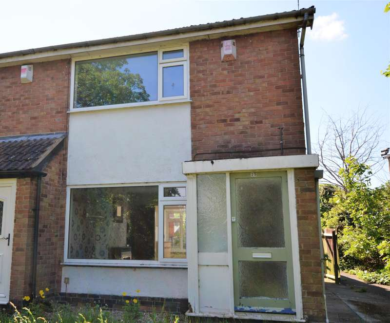2 Bedrooms End Of Terrace House for sale in Bridge Way, Whetstone, Leicester, LE8 6LY