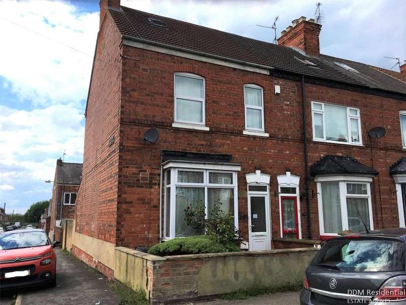 3 Bedrooms End Of Terrace House for sale in Sandsfield Lane, Gainsborough, Lincolnshire, DN21