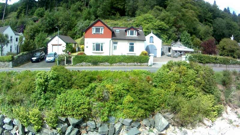 4 Bedrooms Link Detached House for sale in Langholm Lodge, Shore Road, Dunoon, Argyll, PA23