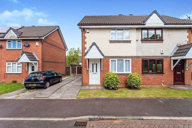 2 Bedrooms Semi Detached House for sale in Woodsend Close, Blackburn, BB2