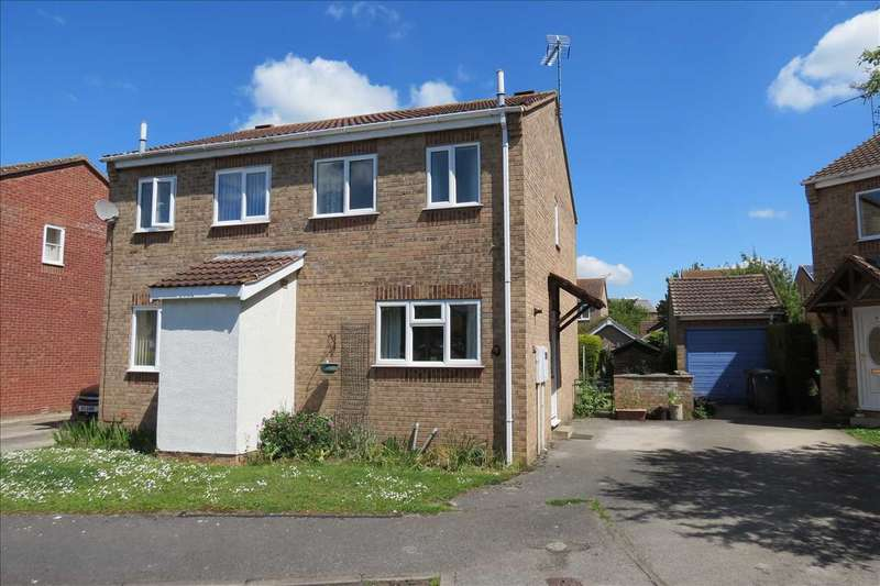 2 Bedrooms Semi Detached House for sale in Grace Close, Sleaford