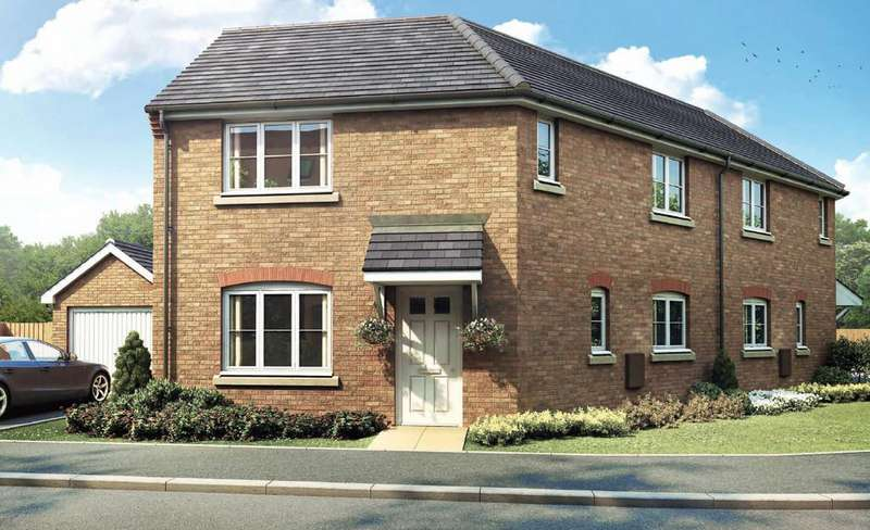 3 Bedrooms Detached House for sale in Plot 56 The Newton, Pinchbeck Field, Spalding