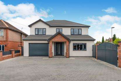 4 Bedrooms Detached House for sale in Walsall Road, Great Wyrley, Walsall, Staffordshire