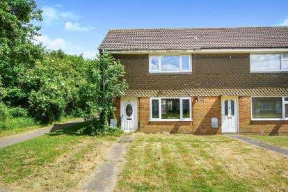 2 Bedrooms End Of Terrace House for sale in Hercules Close, Little Stoke, Bristol, Little Stoke