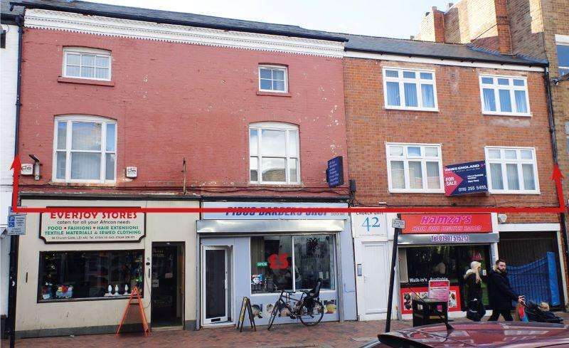 8 Bedrooms Apartment Flat for sale in First Second Floor, 42-44 Church Gate, Leicester, LE1 4AF