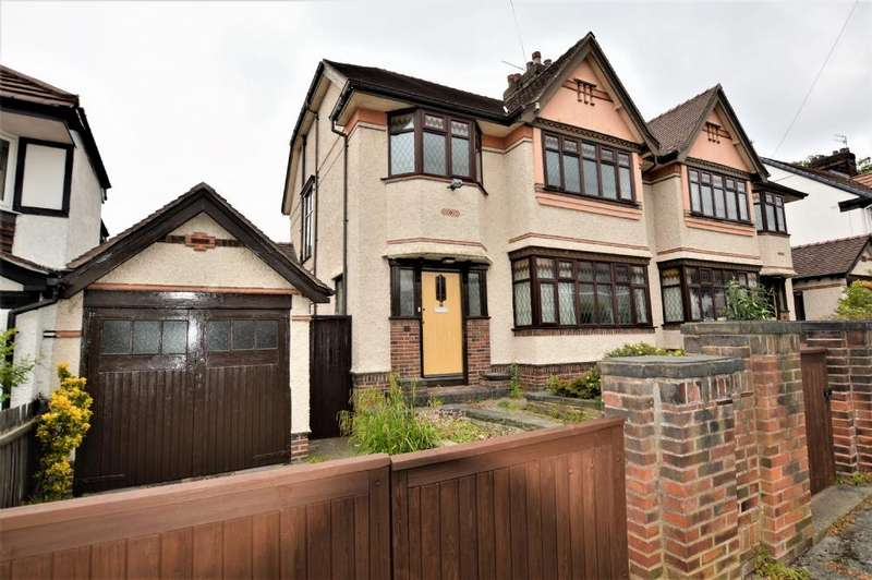4 Bedrooms Semi Detached House for rent in Druidsville Road Liverpool L18 3EL