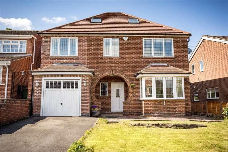 5 Bedrooms Detached House for sale in Mount Pleasant Drive, Belper, Derbyshire, DE56