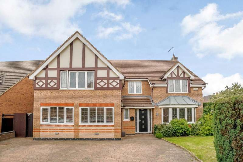 5 Bedrooms Detached House for sale in Audley Close, Market Harborough, Leicestershire