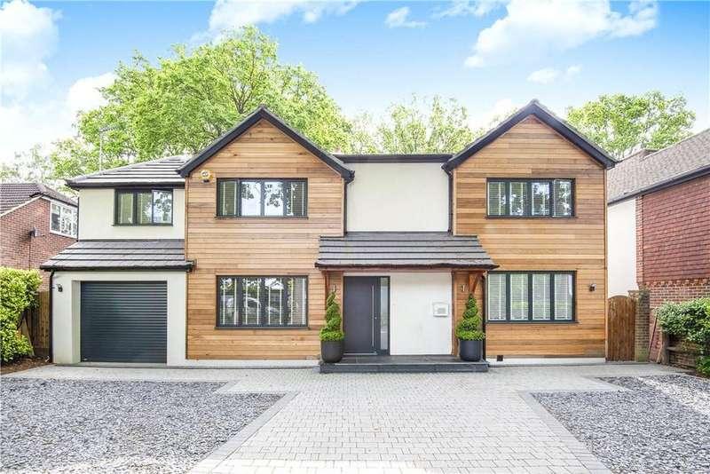 5 Bedrooms Detached House for sale in Norfolk Farm Road, Woking, Surrey, GU22