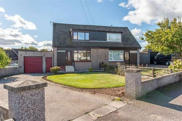 3 Bedrooms Semi Detached House for sale in Woodcot Park, Stonehaven, Aberdeenshire