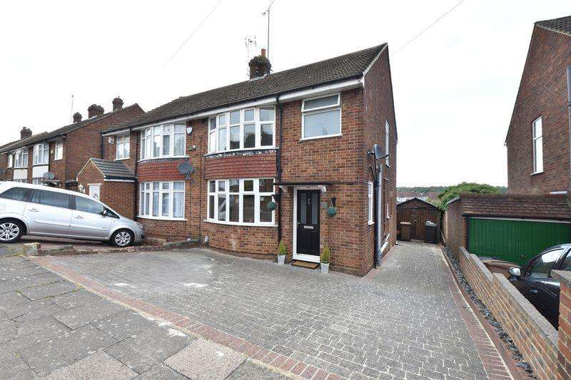 3 Bedrooms Semi Detached House for sale in Hillary Crescent, Luton