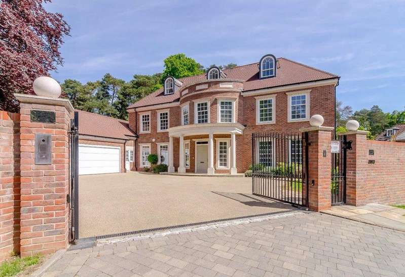 5 Bedrooms Detached House for sale in Brockenhurst Road, South Ascot, Berkshire